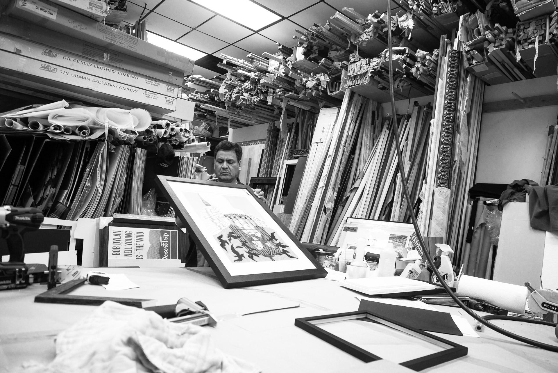 Custom Framing Amp Frame Shop In Los Angeles Frame 2000